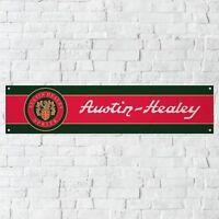 Austin Healey Banner Garage Workshop PVC Sign Trackside Car Display