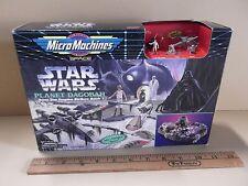 "Micro Machines Star Wars Planet Dagobah Diorama    ""See Description"""