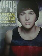 Austin Mahone official 25 pullout Poster collection Centerfold + Bonus double sz