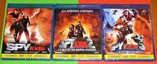 SPY KIDS 1, 2 y 3 Robert Rodriguez - COMBOS DVD+BLURAY -AREA B/2- Precintada