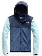 NWT The North Face Boys Glacier Full Zip Fleece Hoodie Jacket
