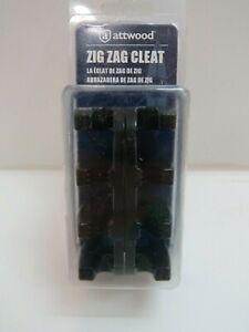 NIB 3+3/8 x 1+5/8 INCH ATTWOOD NYLON ZIG ZAG CLEATS  BOAT SAIL (D2B416)
