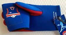 AFL Western Bulldogs STUBBY GLOVE HOLDER CAN COOLER PARTYS FOOTBALL GREAT GIFT