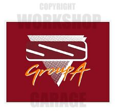 VN SS Group A Holden Commodore - Stickers