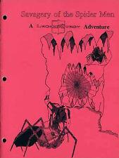 SAVAGERY OF THE SPIDER MEN VF! Board Enterprises Module Adventure Legendquest
