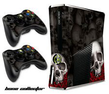 Skin Decal Wrap for Xbox 360 Slim Gaming Console & Controller Xbox360 Slim BC B