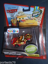 Disney Cars 2 METALLIC FINISH MIGUEL CAMINO exclusive