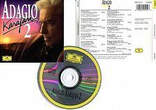 """KARAJAN """"Adagio 2"""" (CD) 1995"""