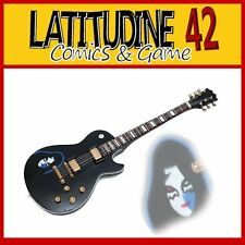 MUSIC LEGENDS COLLECTION GUITARS KISS Ace Frehley Les Paul Black CHITARRA NEW!