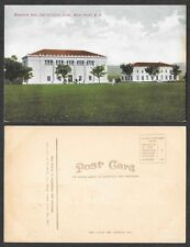 Old Postcard - West Point, New York - Officers' Club and Memorial Hall