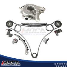 Timing Chain Kit Oil Pump Fit 02-07 Nissan 350Z Maxima FX35  G35  Murano Altima