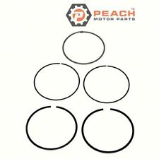 Peach Motor Parts PM-6D3-11603-00-00 Piston Ring Set (Standard) Fits Yamaha®