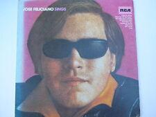 José Feliciano – Sings LP, Germany, Vinyl NM
