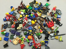 8 Ounces of Non Lego Minifig Parts and Accessories Megablok Heroes TMNT W140