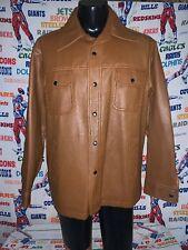 Vintage 1970's Pleather/ Vegan Leather Jacket Xl