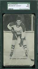1948-52 Hockey Exhibit Card - Dollard St Laurent - Montreal Canadians - SGC 10