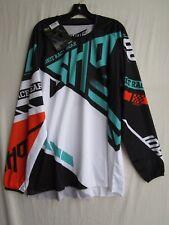 SHOT race gear RACEWAY motocross jersey men's EXTRA LARGE A0F-12B1-B05-11 mint