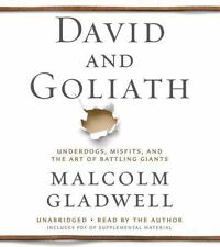 David and Goliath Audio: Underdogs, Misfits, and the Art of Battling Gia .. NEW