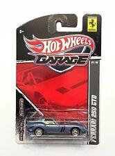2011 HOT WHEELS EXCLUSIVE REAL RIDER'S GARAGE - FERRARI 250 GTO #05/06!