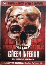 Dvd El Verde Inferno - Edizione Limitata Sin cortar por Eli Roth 2013 Usado