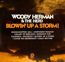BIG BAND LP WOODY HERMAN & THE HERD BLOWIN' UP A STORM