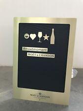 Moët Chandon Imperial Letter Board Publicité DECO CHAMPAGNE Nouveau neuf dans sa boîte