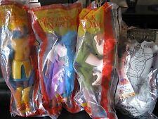 """Disney  Hunchback of Notre Dame   """"Four Toy Set""""  NIP Burger King  1996"""
