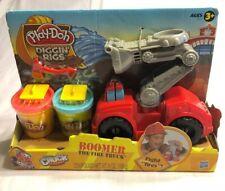 Play Doh Diggin' Rigs Tonka Chuck Friends Boomer The Fire Truck Playset 3+