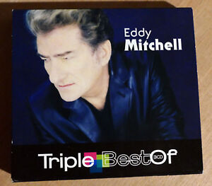 triple CD  Eddy Mitchell Triple Best Of Compilation 2008 Universal Music France