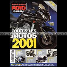 MOTO JOURNAL HS 2010 HORS-SERIE ★ CATALOGUE / TOUTES LES MOTOS  2001 ★ SALON