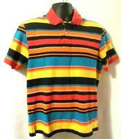 Club Room Short Sleeve Bright Polo Shirt Men's, Medium, Multicolor