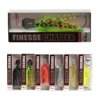 Spinner Bait Fishing Lure 18g For Bass Pike Trout Casting Spinning 6 Colors