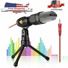 Professional Studio Recording Condenser Microphone Mic Audio For PC Tripod Stand