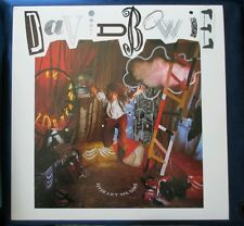 David Bowie Never Let Me Down Poster 2-Sided Flat Square 1987 Promo 12¼ x12¼RARE