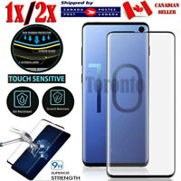 For Samsung Galaxy S8 S9 S10 S20 Plus Ultra S10e Tempered Glass Screen Protector