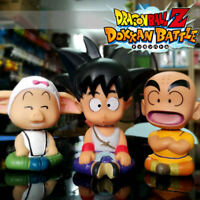3Pcs Anime Dragon Ball Z Son Goku Kuririn Oolong PVC Action Figure Toy Gift
