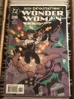 WONDER WOMAN #143 ADAM HUGHES COVER 1999 paquette interiors dc comics hot book