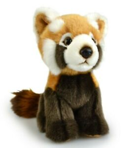 LIL FRIENDS RED PANDA PLUSH SOFT TOY 18CM STUFFED ANIMAL BY KORIMCO