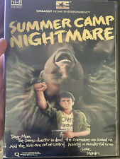 Summer camp nightmare DVD Convention Copy Punk 80's Horror Drama Cult Conners