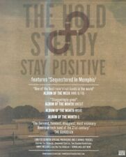 "(NMEM6) ADVERT/POSTER 11X9"" THE HOLD & STEADY - STAY POSITIVE - ALBUM"