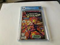 AMAZING SPIDER-MAN 203 CGC 9.6 WHITE PAGES 3RD APPEARANCE DAZZLER MARVEL COMICS