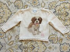 Ralph Lauren Cream Sweater 100% Cotton - Sz. 9M - RARE!