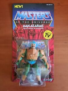 Masters Of The Universe. Super7 MOTU Vintage. MAN-AT-ARMS