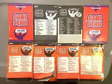 GAME GENIE VIDEO GAME ENHANCER - LOT OF MANUALS AND UPDATES SNES SUPER NINTENDO