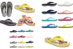 12+ colors Women's CROCS Crocband Flip Thong Sandals pink black white green blue