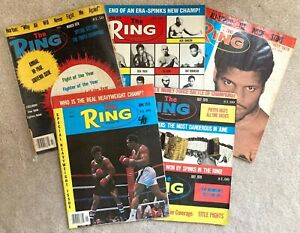 The Ring magazine boxing, 1978, lot of 5
