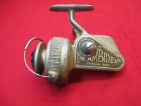 Vintage J W Young & Sons The Amidex Casting Reel Fishing  Reel, Reditch England