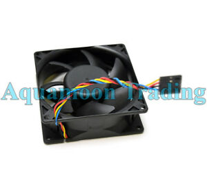"""Authentic Dell OEM OPTIPLEX GX520 GX620 740 745 Case Cooling 4"""" Fan w/ Cable"""