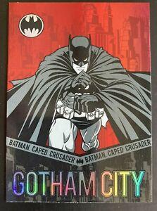 2012 Cryptozoic BATMAN The LEGEND BP1 Rare PROMO Card DC Comics Red Foil