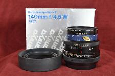 Mamiya RZ 67 140mm f/4.5 Macro Lens ~ MINT CONDITION +